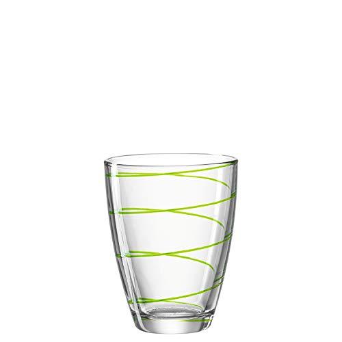 Montana WH Becher :Jolly - Longdrinkglas, Wasserglas, Trinkglas, Gläser-Set, Saftgläser, Set 6-teilig (Grün) Montana Glas