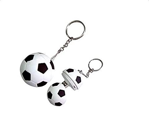 CAOLATOR USB 4GB forme de Football, Mini Clé USB 2.0,Flash Mémoire Drive Porte-clés