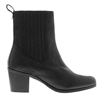 Firetrap Womens Hazel Ankle Boots Heeled Slip On Elasticated 3