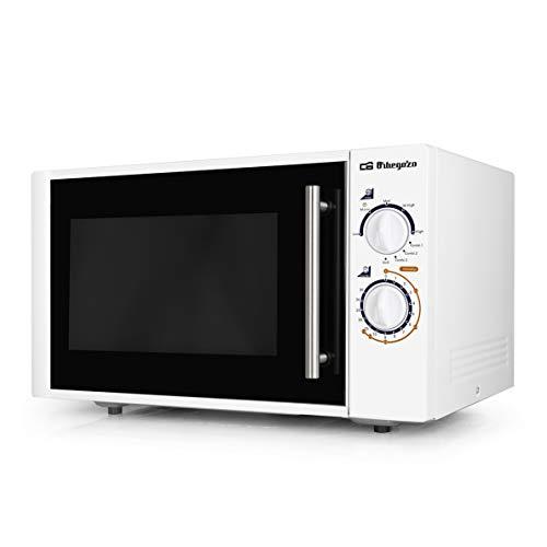 Orbegozo MIG2520 Mikrowelle, 25 Liter Fassungsvermögen, 5 Leistungsstufen + Grill + 3 Kombifunktionen