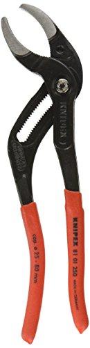 Preisvergleich Produktbild Knipex Siphon- und Connectorenzange, Länge 250 mm, 1 Stück, 81 01 250 SB