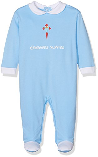 Body Bebé Celta de Vigo Pelcel Pelele, Bebé-Niños, Azul (Azul Celes