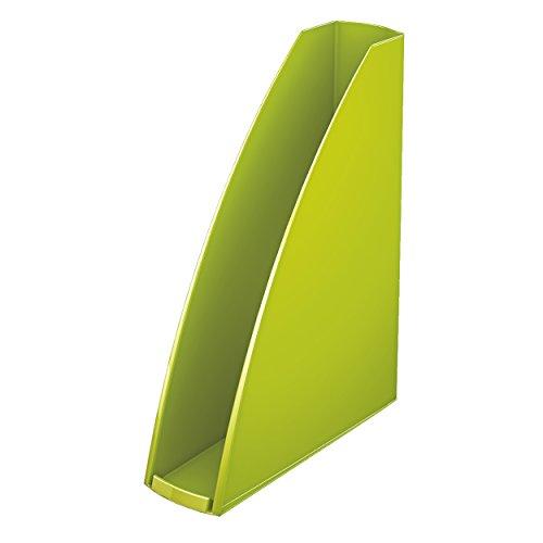 Leitz 52771064 WOW Stehsammler, A4, Polystyren, grün metallic