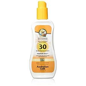 Australian Gold Spray Gel high protection, factor de protección solar 30