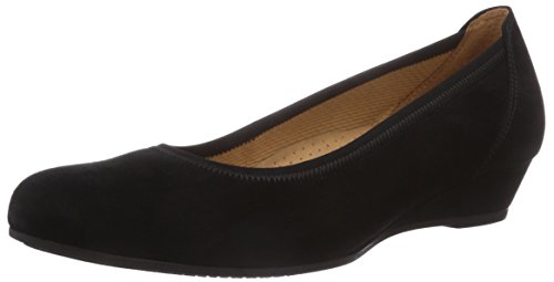 Gabor Shoes Damen Ballerina Pumps, schwarz 47), 38 EU -
