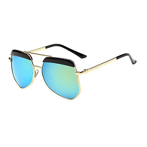 Sonnenbrille Neue Kinder Brillenmode Rundes Gesicht Multilateralen Big Frame Sonnenbrillen Für Mädchen Und Jungen Schwarz Grün