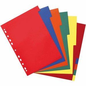 Herlitz Register A4 10-teilig Kunststoff PP farbig