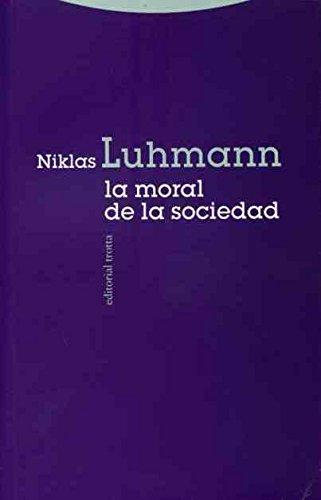 La Moral De La Sociedad (Estructuras Y Procesos. Ciencias Sociales)