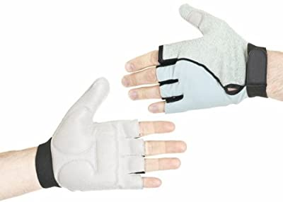 Gel Pad Padded Wheelchair Glove Scooter Cycling Mitts Gloves