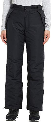Ultrasport Damen Pants funktions-ski-/Snowboardhose, Schwarz, XL