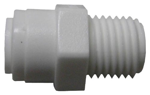 WATTS BRASS & TUBULAR - 1/4 x 1/4-Inch Male Pipe Thread Connect Adapter -