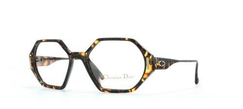 Christian Dior Damen Brillengestell Schwarz Black Yellow (Christian Black Dior Eyeglasses)