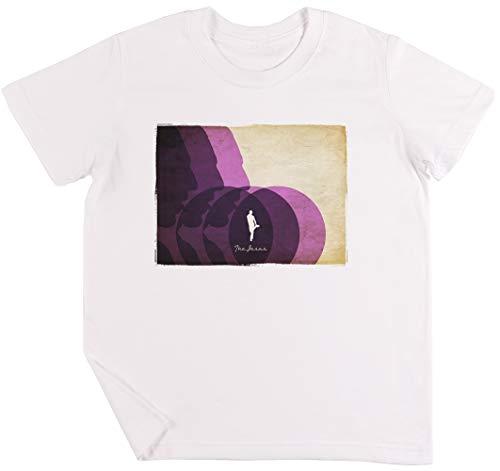 Das Jesus Kinder Jungen Mädchen Unisex T-Shirt Weiß
