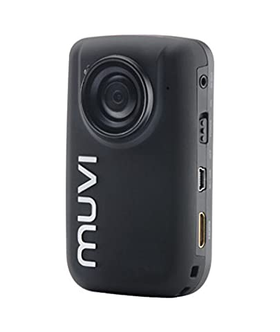 Veho VCC-005-MUVI-HD10 Mini Handsfree 1080p HD Camcorder / Action Camera with Wireless Remote Control, 4GB Memory and includes Sports Mounting