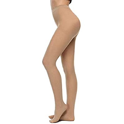 RAPID Women/Girls 1 Skin and 1 Black Color Full Length See Through Pantyhose Stocking