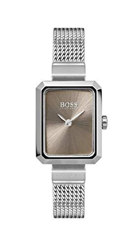 Hugo Boss Watch Womens Analogue Classic Quartz Watch with Stainless Steel Strap 1502431