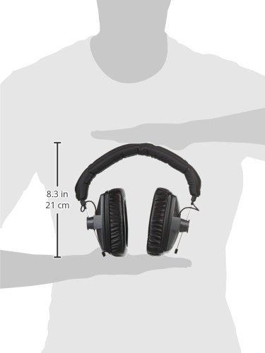 Beyerdynamic DT 150 Ohrumschließend Kopfband Schwarz - Kopfhörer (Ohrumschließend, Kopfband, Verkabelt, 5-30000 Hz, 97 dB, Schwarz) - 6