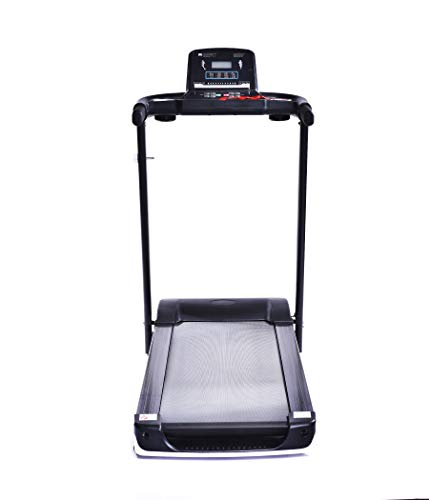 IRIS Fitness 703 Folding Treadmill Electric Motorized Power Fitness Running Machine W/Mobile Phone Holder