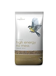 Chapelwood High Energy 'no Mess' Seed Mix 5kg by Chapelwood