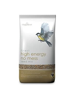 Chapelwood High Energy 'No Mess' Wild Bird Seed Mix 5kg from Chapelwood
