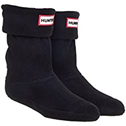 Hunter Kids Boot Sock Black Textile Medium / 28-30 EU