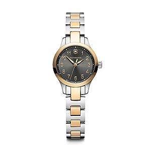 Victorinox Mujer Alliance XS – Reloj analógico de Cuarzo/Cuero de fabricación Suiza de Acero Inoxidable 241841