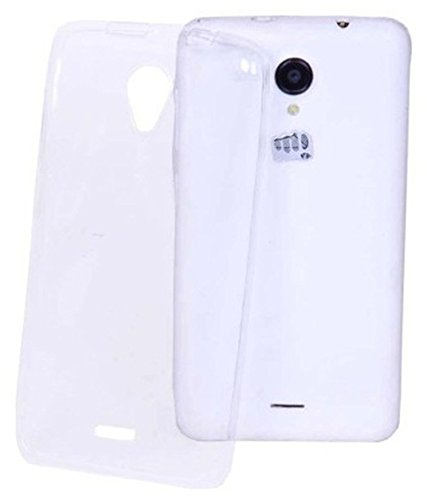 Evoque High Quality Ultra Thin Transparent Silicon Back Cover for Micromax Canvas Xpress A99  available at amazon for Rs.125
