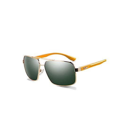 Sport-Sonnenbrillen, Vintage Sonnenbrillen, 20/20 New Aluminum Polarized Sunglasses Men Travel Driving Sun Glasses Classic Male Eyewear Gafas PZ7014 C03 Gold G15