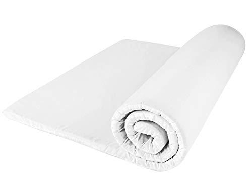 DreamTime Matratzenauflage/Unterbett, Memory Foam, Einzelbettgröße