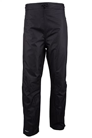Mountain Warehouse Spray Short Womens Waterproof Over Trouser Walking Hiking Cycling Black 10