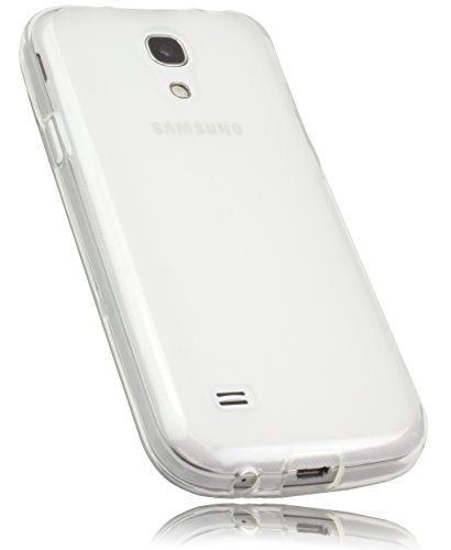 mumbi Schutzhülle Samsung Galaxy S4 mini Hülle transparent weiss