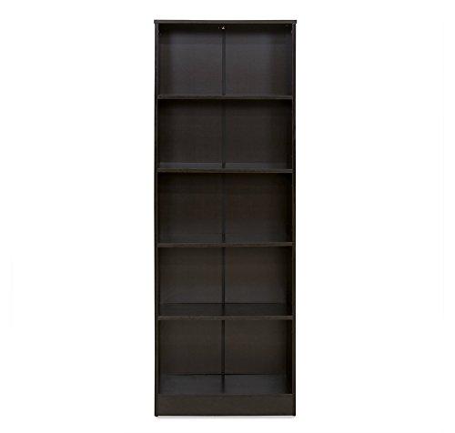 home-by-Nilkamal-Fame-5-Tier-Bookshelf-Melamine-Finish-Black