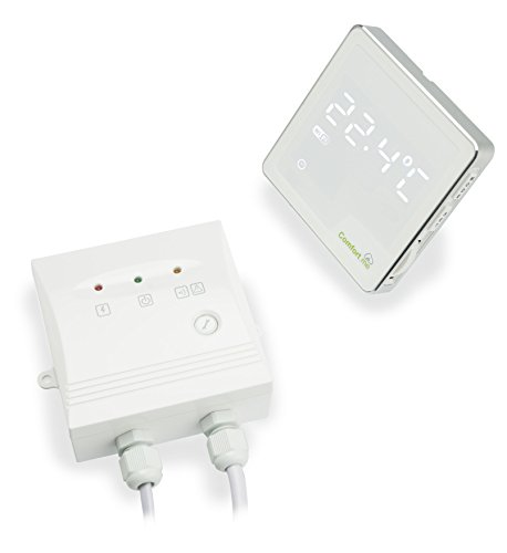 Comfort.me Thermostat Wi-Fi verbunden für Smartphone - Wandmodell