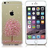 iPhone 6s Plus/6 Plus Case,LoTus Cartoon TPU Bumper and Acrylic Hard Back Clear