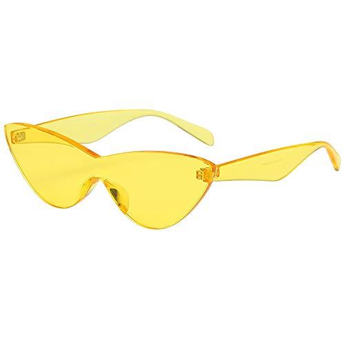 Odjoy-fan occhiali da sole donna vintage retro grandi occhi di gatto rotondi classici in metà metallo goggles cerniere in bicchieri sole uomo polarizzati sportivi guida pesca