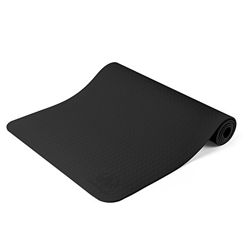 Antideslizante Yoga Mat–Ya y más otros ejercicio alfombrillas–1/4de espesor de alta densidad...