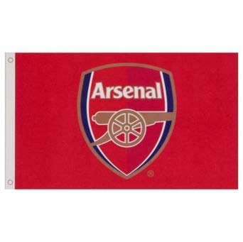 Arsenal Football Club Official Large Flag Crest Gift Game Fan Banner Gunners -