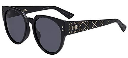 Dior Sonnenbrillen Lady Studs 3F Black/Grey Damenbrillen