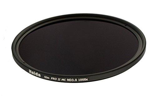 Slim Graufilter PRO II MC (mehrschichtvergütet) ND3.0 (1000x) 37 mm - Schlanke Fassung + Cap mit Innengriff