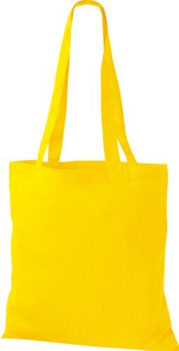 25x Stoffbeutel Baumwolltasche Beutel Shopper Umhängetasche viele Farbe yellow
