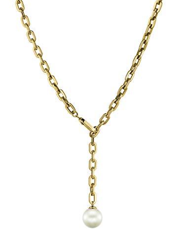 LIEBESKIND BERLIN Damen-Perlenketten Edelstahl LJ-0263-N-46