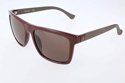 Calvin Klein Herren oK Sonnenbrille, Brown, 55
