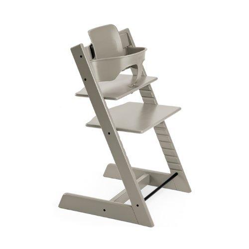 Preisvergleich Produktbild Stokke 100111 - Kinderstuhl / Hochstuhl Tripp Trapp, grau