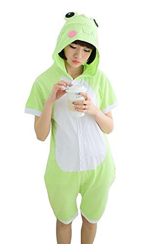 Partei Kleidung Der GüNstigste Preis Kigurumi Erwachsene Frosch Onesies Pyjamas Tier Kostüm Pyjamas Unisex Cartoon Charakter Pijamas Nachtwäsche