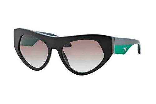 Prada Für Frau 27q Black / Grey Gradient Kunststoffgestell Sonnenbrillen