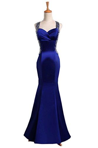 TOSKANA BRAUT - Robe - Sirène - Femme Bleu royal
