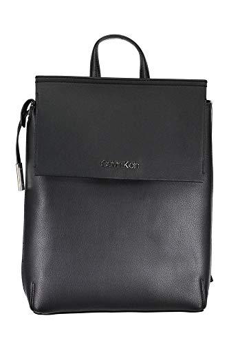 Calvin Klein - Stitch Backpack, Mochilas Mujer, Negro (Black), 11x28x37 cm (B x H T)