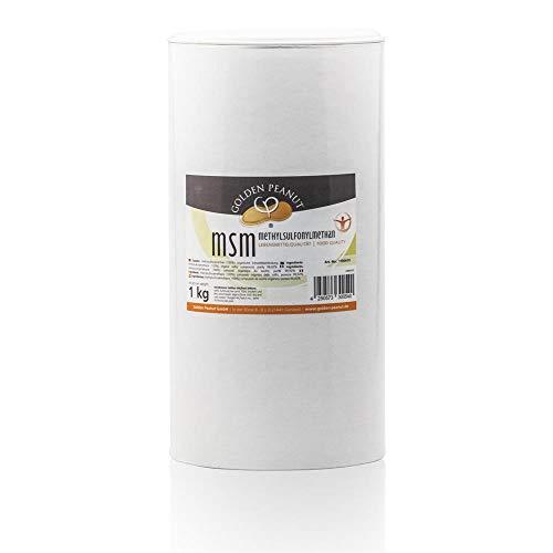 MSM Methylsulfonylmethan Pulver, Reinheitsgrad 99,92% 1 kg Dose