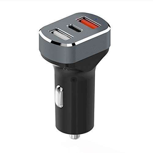 Schnelles Auto-Ladegerät Quick Charge 3,0 42W Output Triple USB-Port Für Iphone, Galaxy Und Mehr