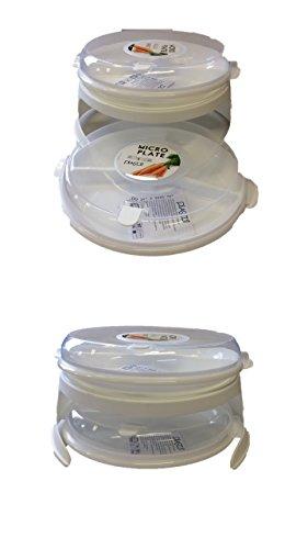 AKTION 2011/0150 Mikrowellen-Teller-Set (5 Teile) von Conny Clever®